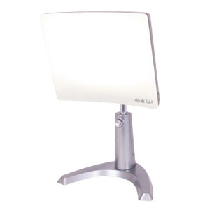 Image Of Daylight Classsic Plus Therapy Lamp, White