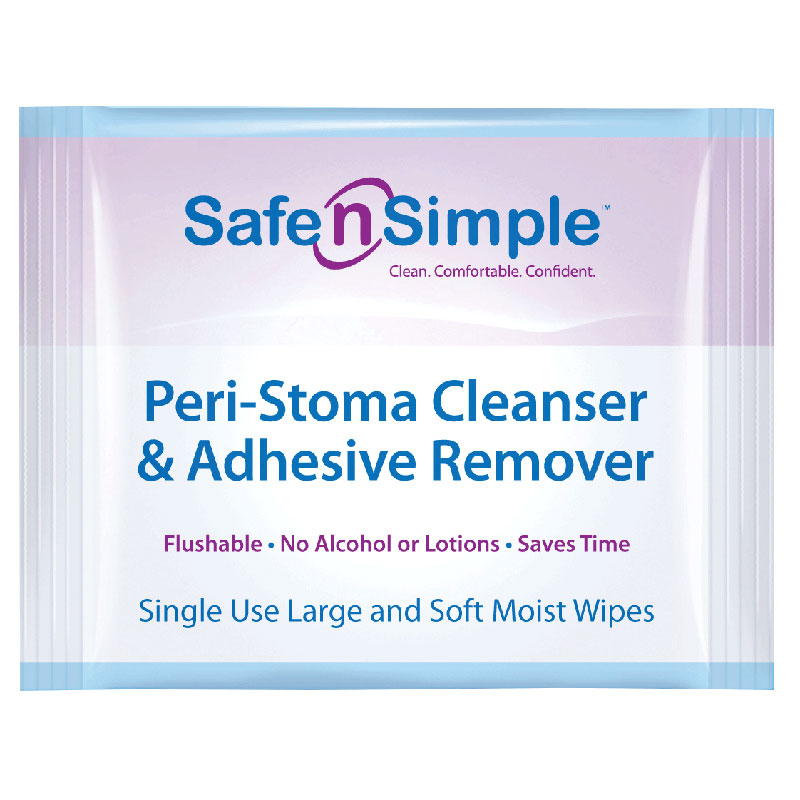 Image Of Peri-Stoma Adhesive Remover Wipe, 5/Package