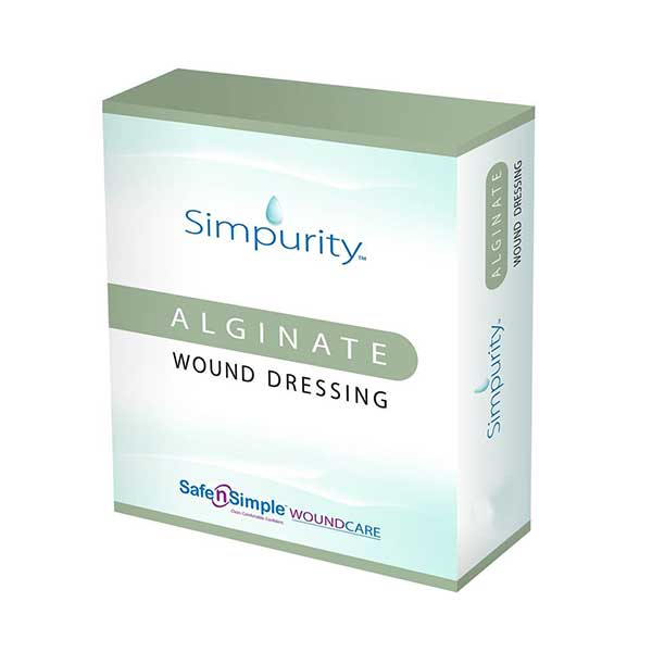 "Image Of Simpurity Alginate 2"" x 2"" pad"
