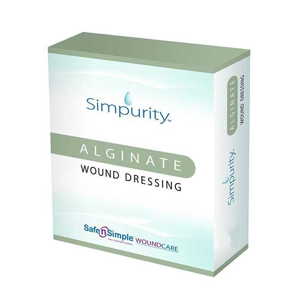 Image Of Simpurity Alginate 4 x 4 pad