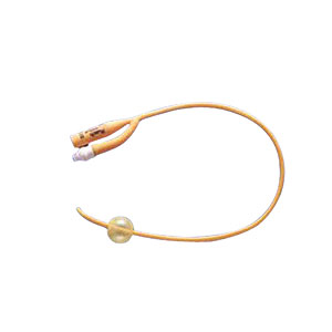 Image Of PureGold Coude 2-Way Foley Catheter 24 Fr 5 cc
