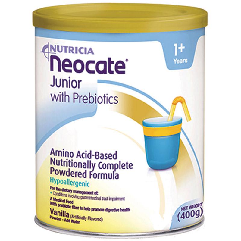 Image Of Neocate Junior with Prebiotics, Vanilla, 400g