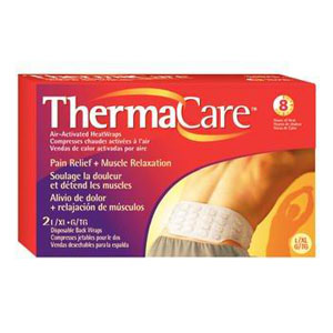 Image Of Thermacare Air-Activated Heat Wraps, Back and Hip, Large/X-Large