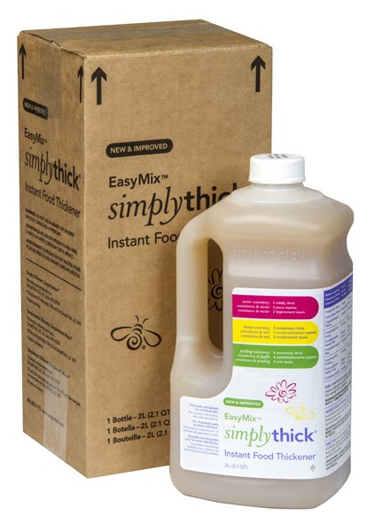 Image Of SimplyThick Easy Mix Gel Thickener, 1.6 Liters Bottle w/Pump, Nectar, Honey, Pudding