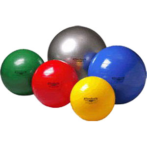 """Image Of Theraband Exercise Ball, 18"""", Yellow, High Quality"""