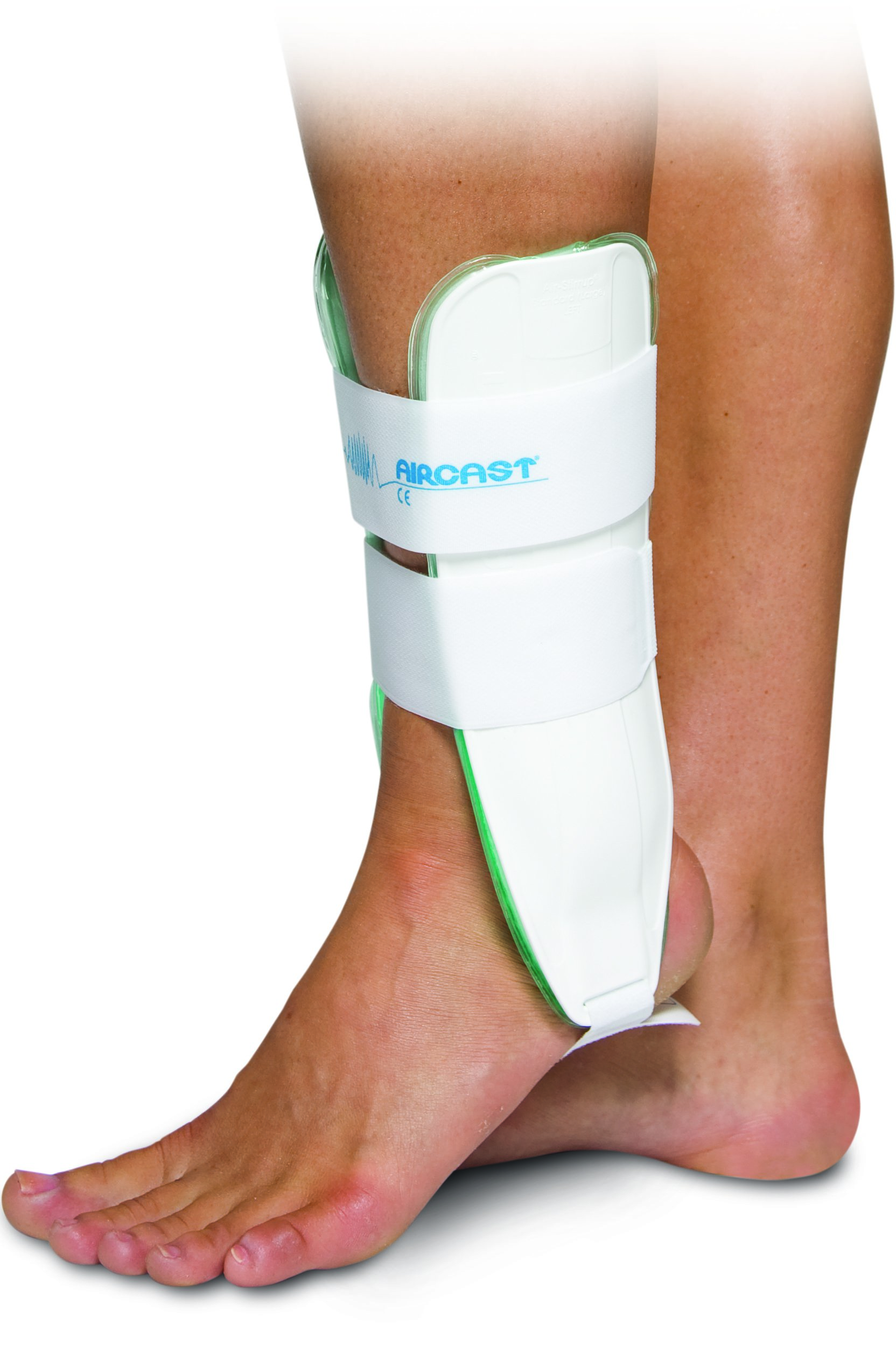 Image Of Walker Boot Air-Stirrup One Size Fits Most Hook and Loop Closure Left or Right Foot