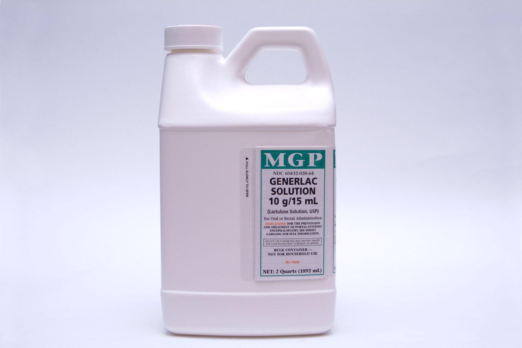 Image Of Ammonia Detoxicant Lactulose 10 Gram / 15 mL Oral Solution Bottle 16 oz