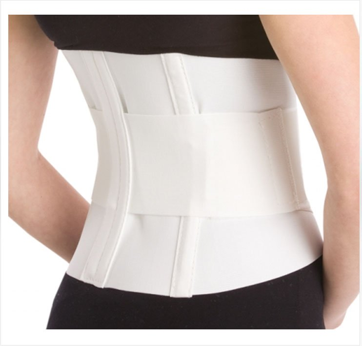Image Of Lumbar Support PROCARE X-Large Compression Straps 43 - 46 Inch 10 Inch Unisex