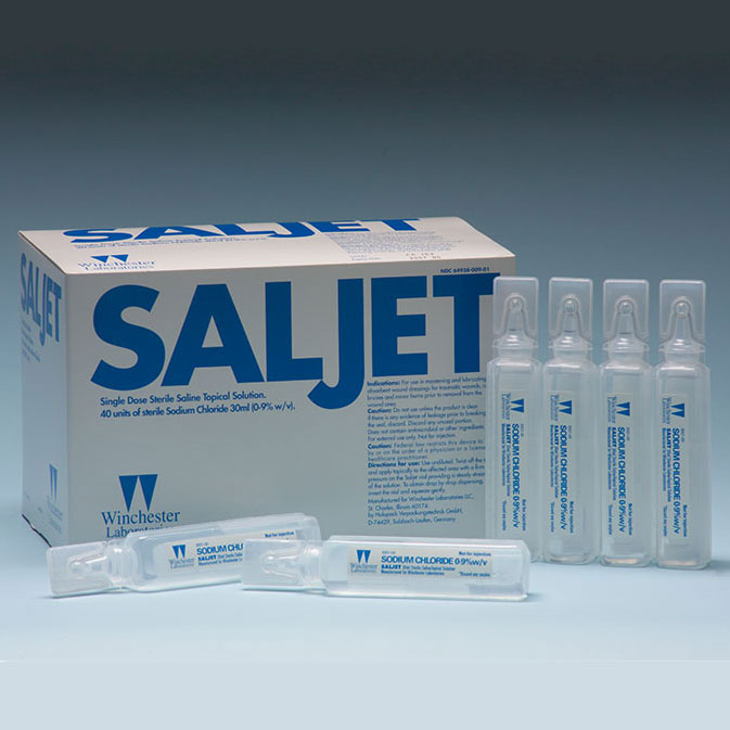 Image Of Saljet Single-Use Saline for Irrigation, 30 mL, 0.9%